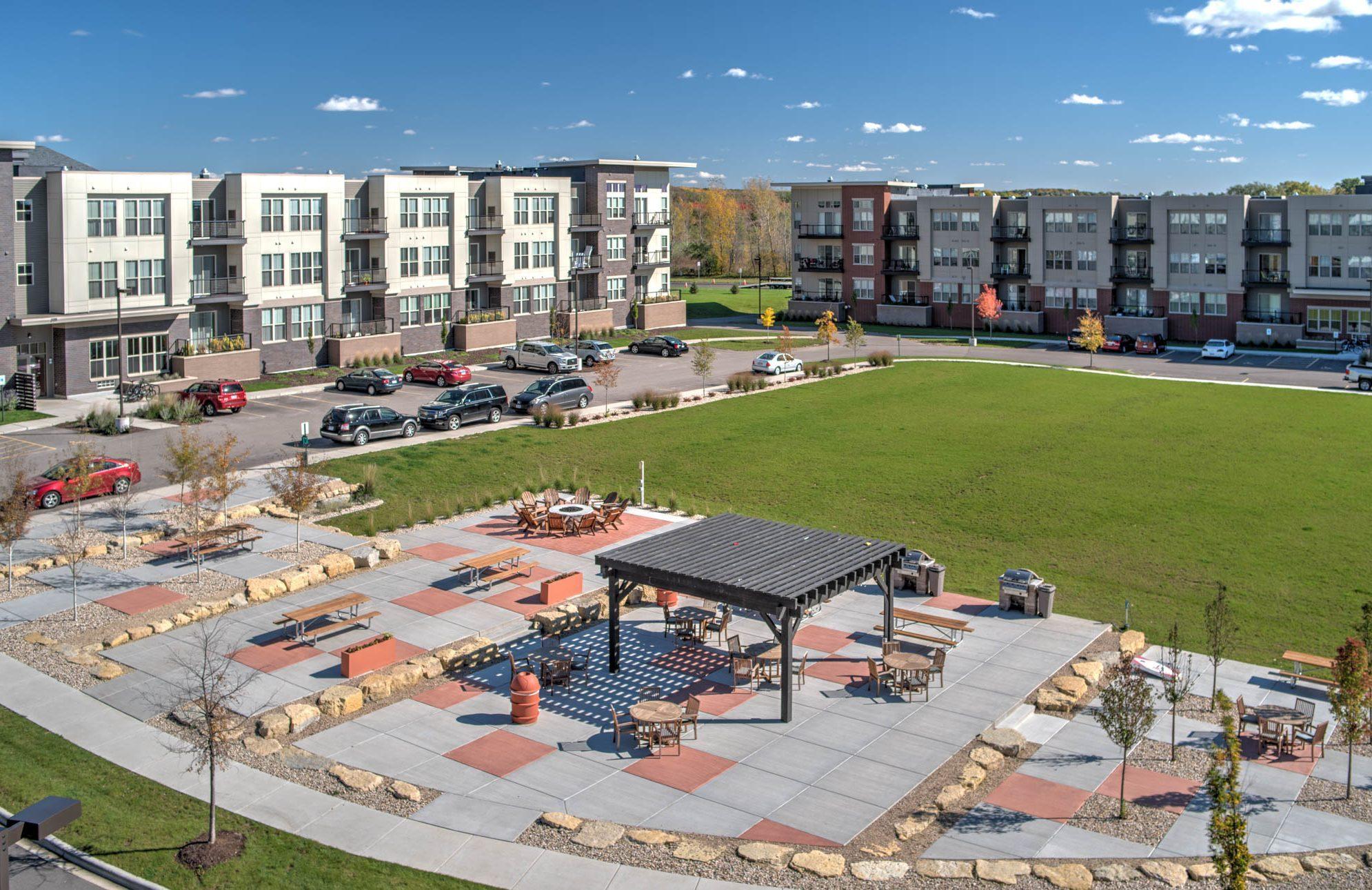 50twenty apartments green space