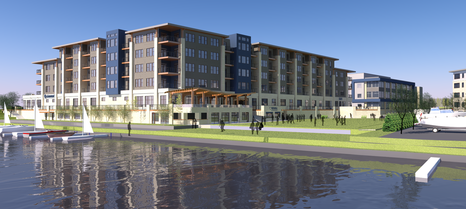The Current @ Yahara Riverfront Redevelopment | Monona, Wis.