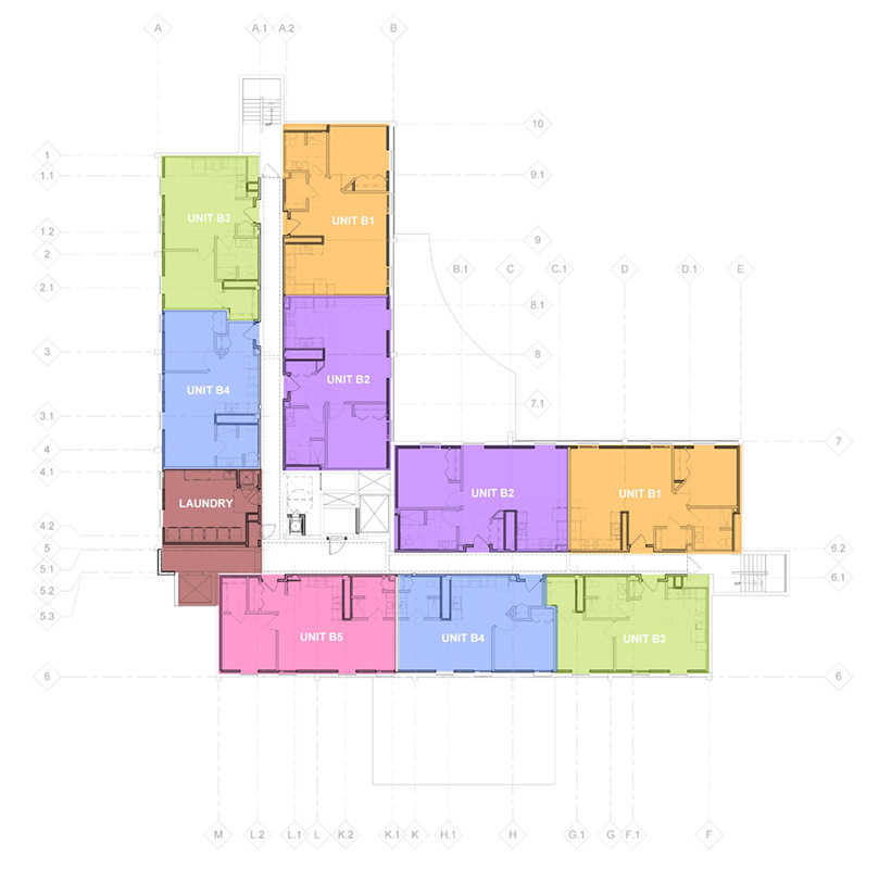 Park Place - interior layout 2