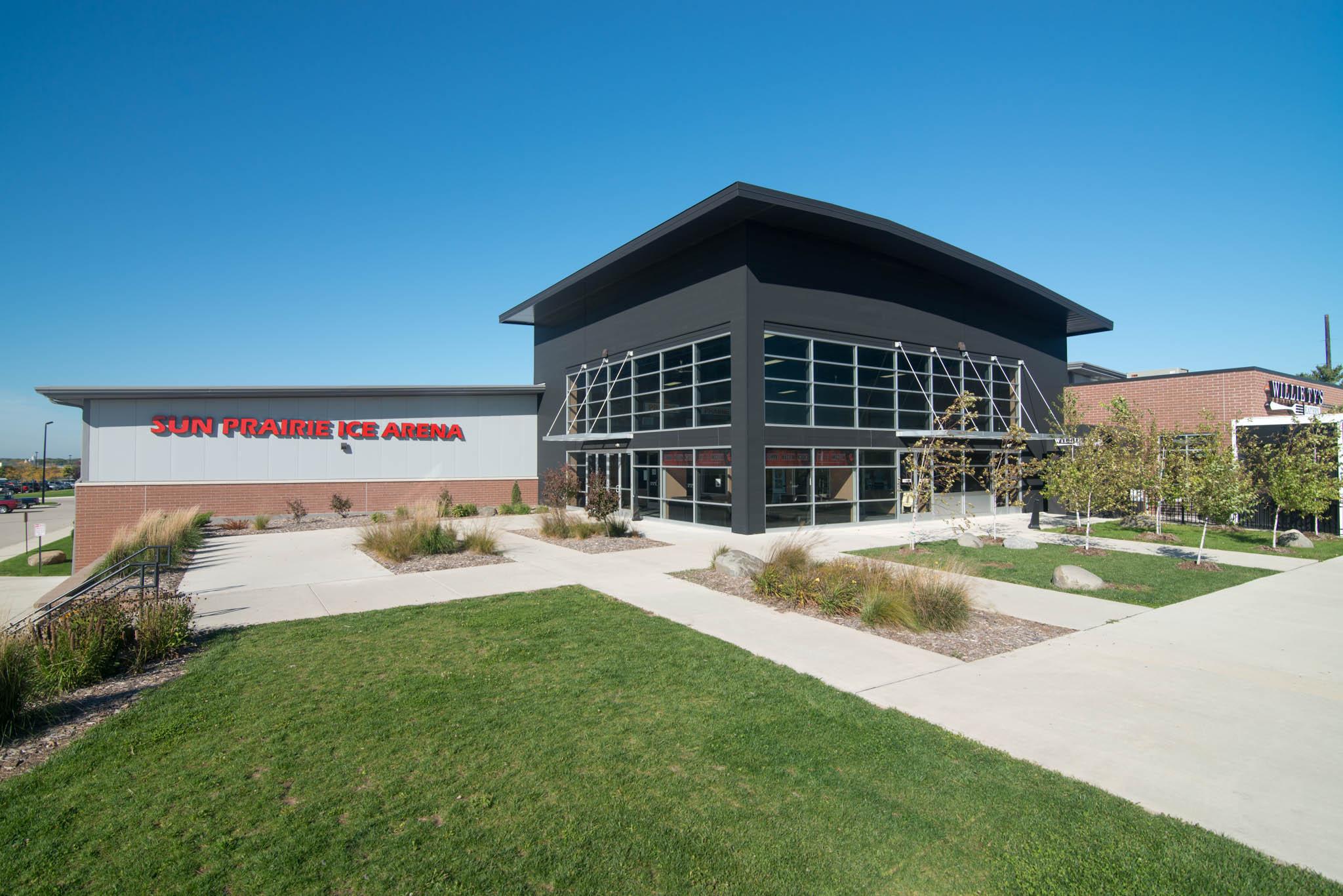 Sun Prairie Ice Arena- exterior