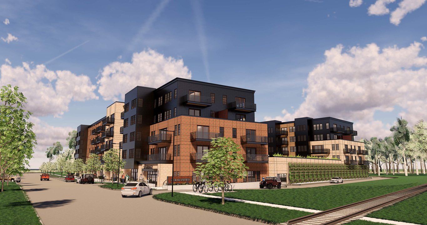 View of Garver Point Apartments | Madison, Wis. | JLA Architects