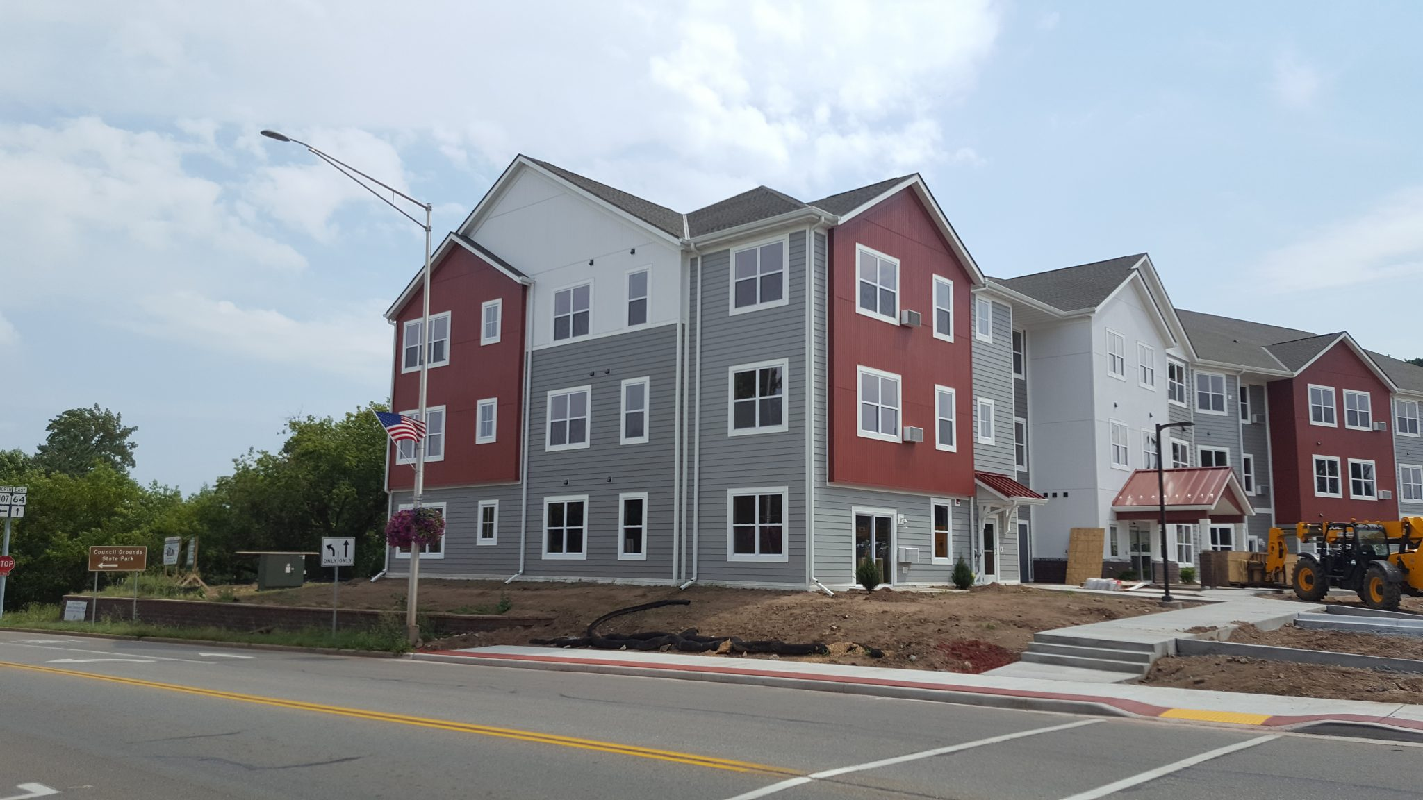 Corner Exterior | Stonebridge Apartments | Merrill, Wis. | JLA Architects