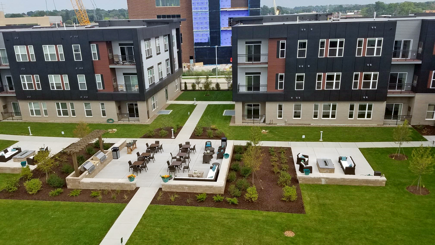Forte Apartments | Greenfield, Wis | Milwaukee Area | Patios