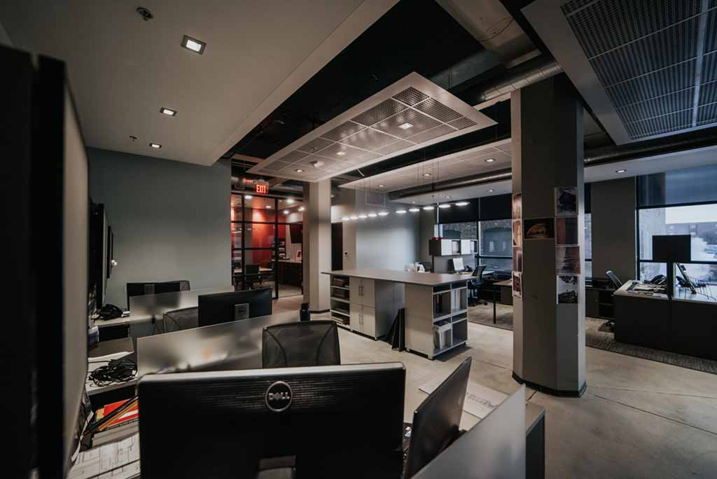 JLA Architects | Milwaukee | Office Area