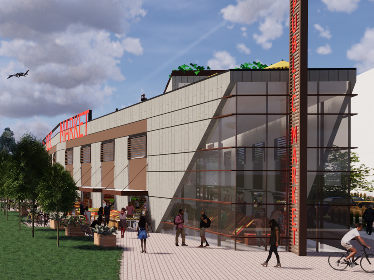 Madison Public Market - Proposed Exterior