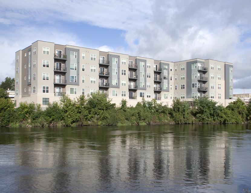 Exterior | The Globe Apartments | Watertown, Wis. | JLA Architects
