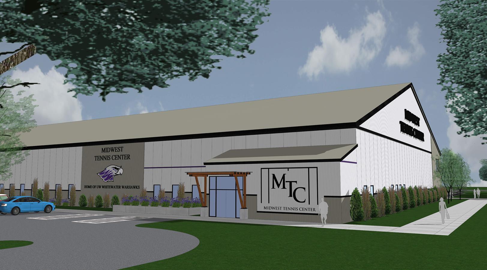 Entrance | Midwest Tennis Facility | Milton, Wis.