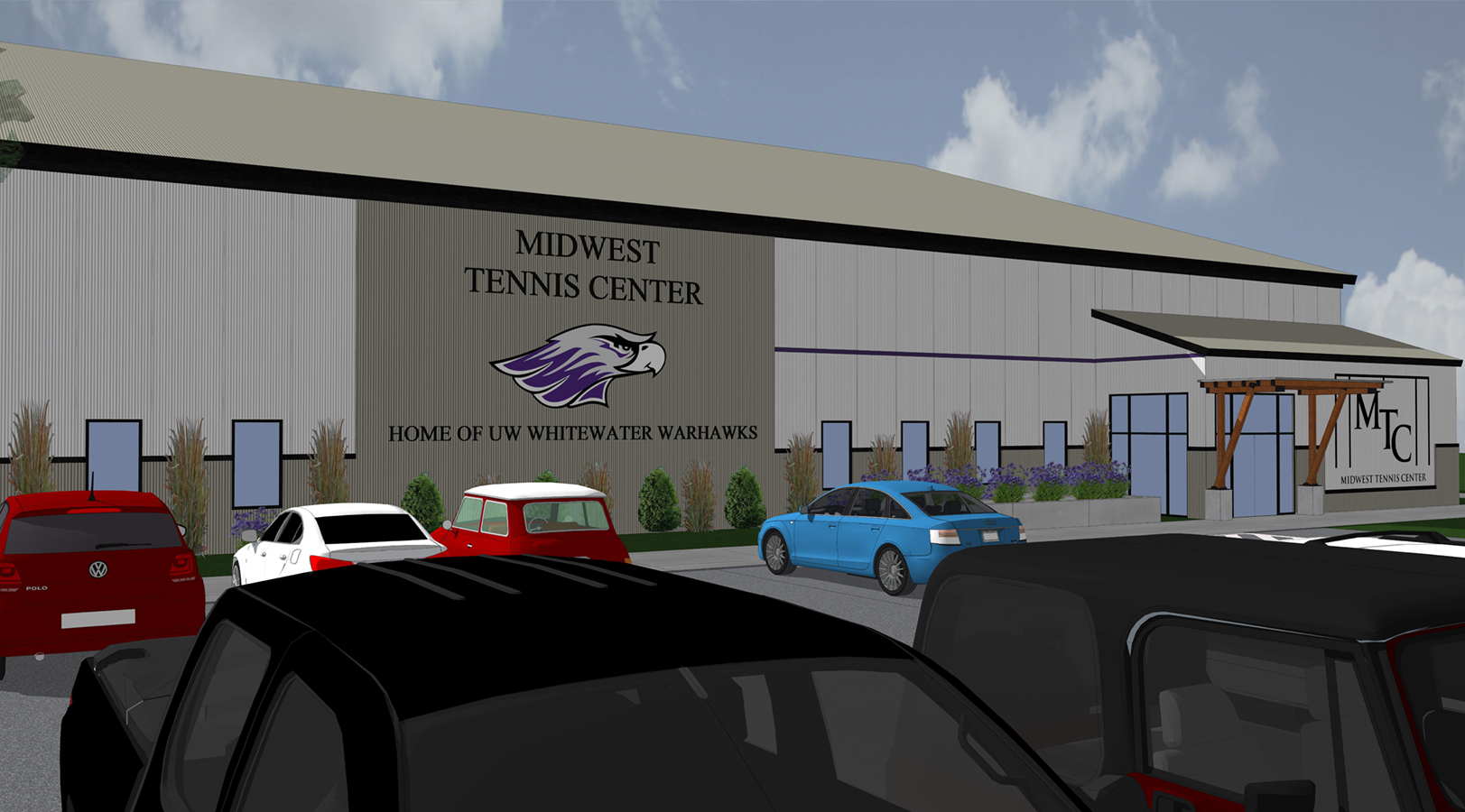Front | Midwest Tennis Facility | Milton, Wis.