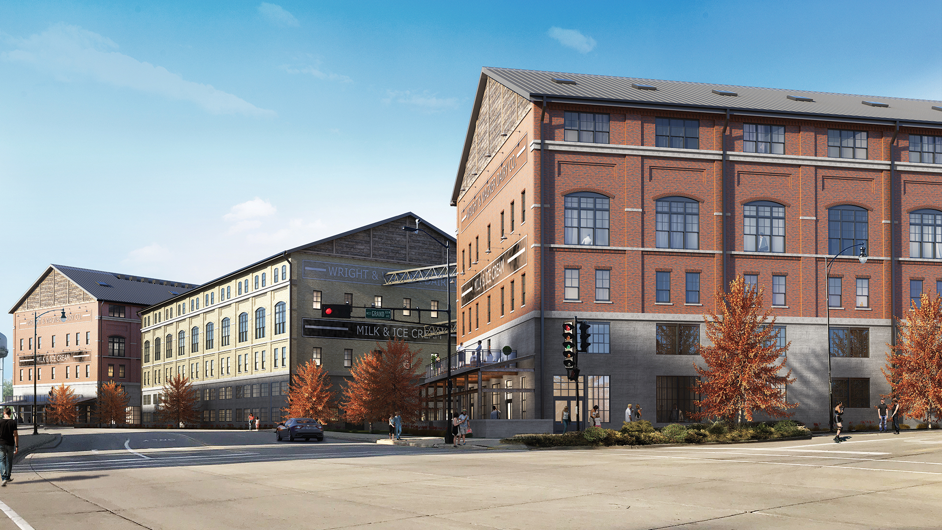 Wright & Wagner Lofts | Beloit, Wis. | JLA Architects