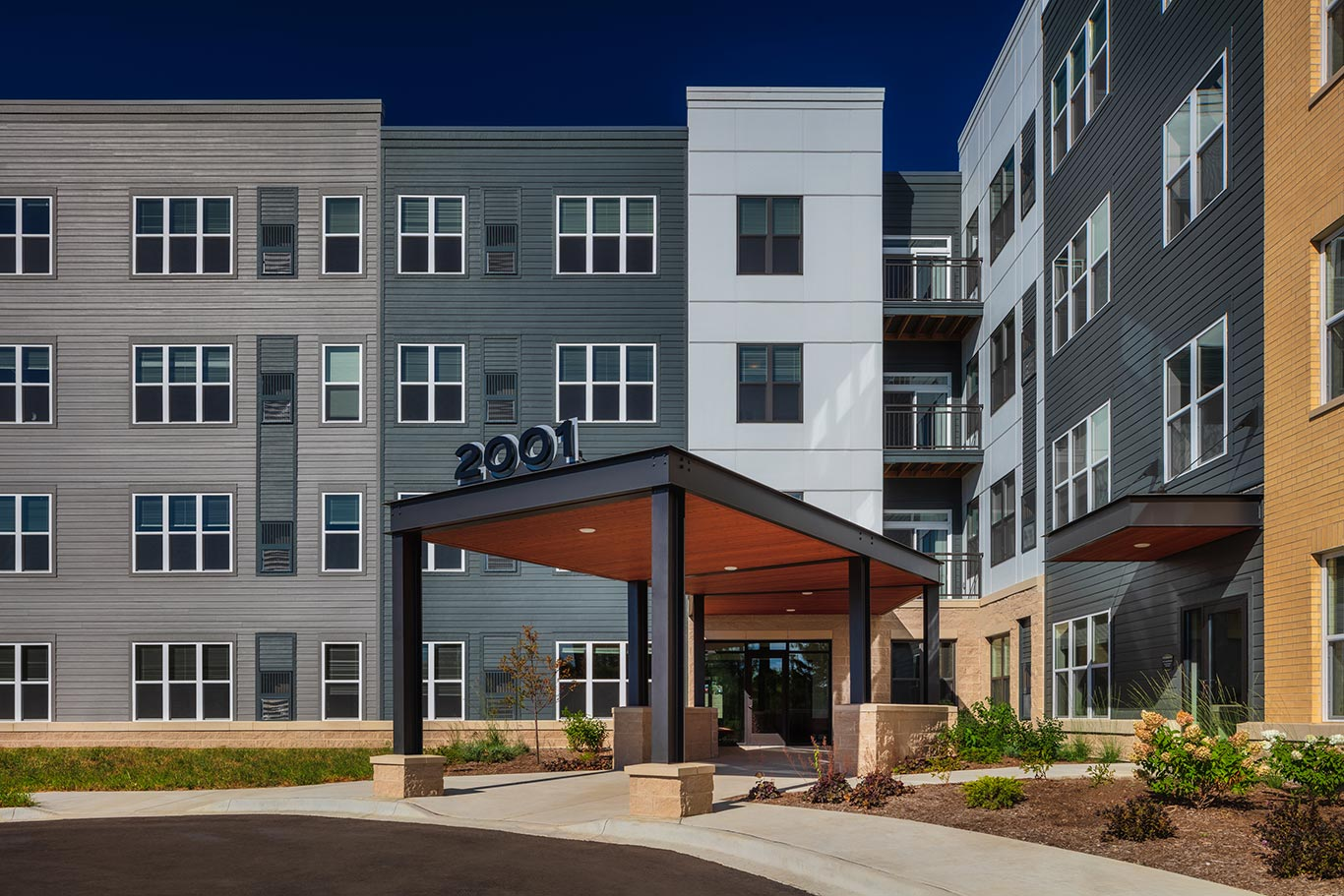The Highline Senior Apartments in Fitchburg, Wis. by JLA Architects