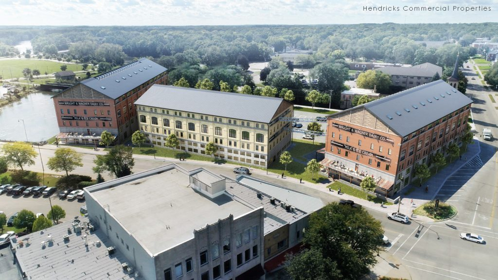 Property View | Wright & Wagner Lofts | Beloit, Wis. | JLA Architects with Hendricks Commercial Properties