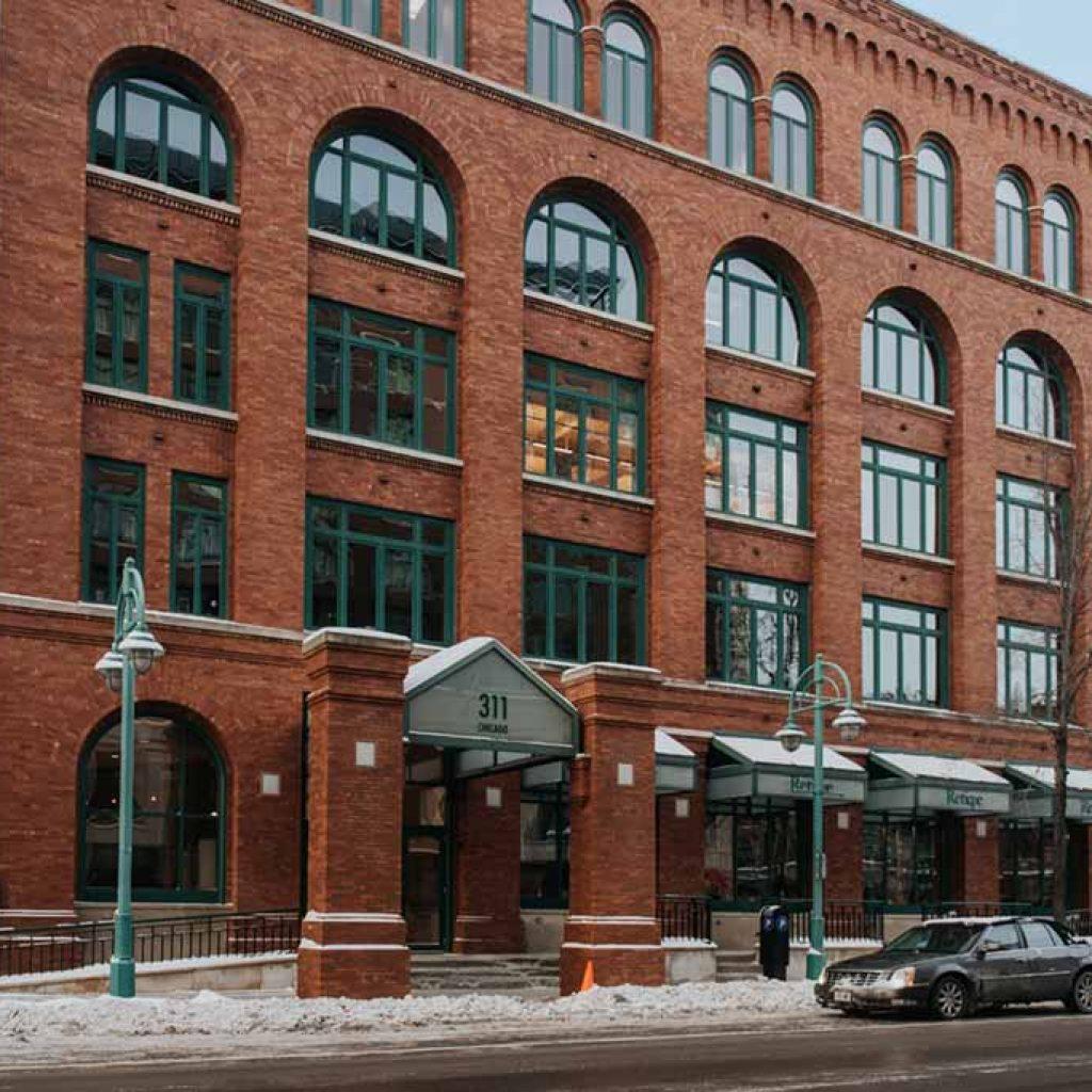 Location of JLA's Milwaukee Office in the Third Ward