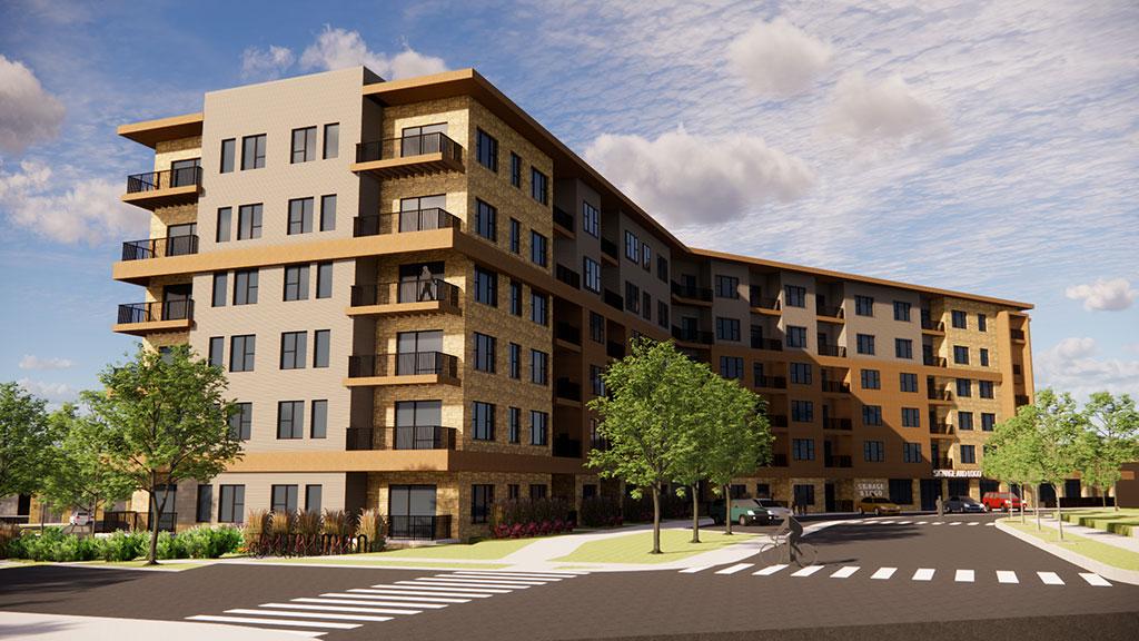 Grandview Commons | Exterior | JLA Architects | Madison, Wis