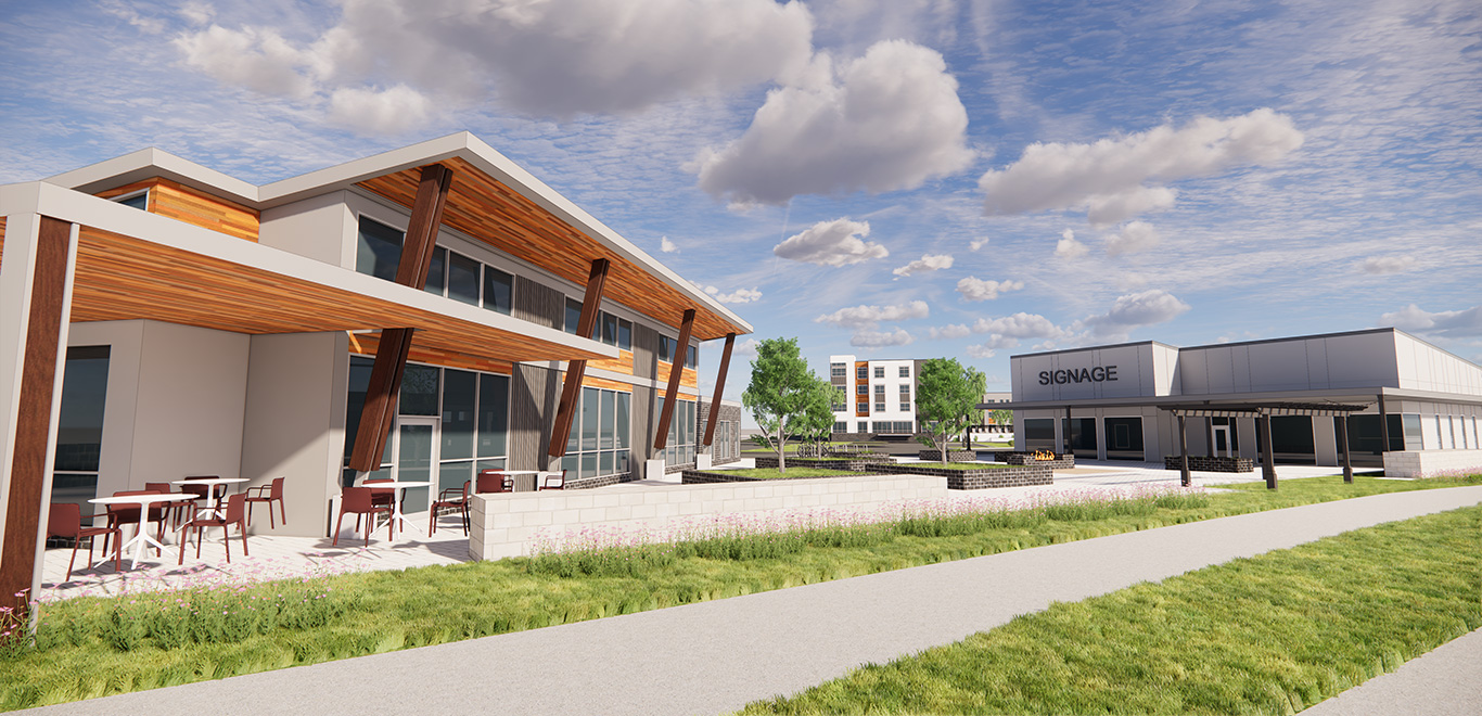 Commercial Buildings at The Falls | Milwaukee Area | by JLA Architects