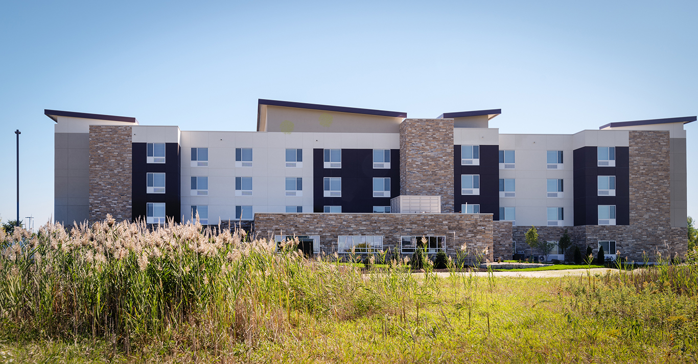 Middleton's newest hotel Towneplace Suites | JLA Architects